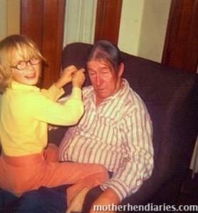 Grampa's girl