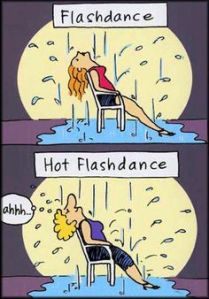 hot flash dance