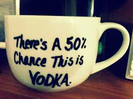 50% vodka