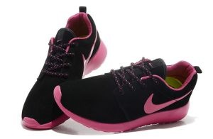 Nike-Roshe-Run-Sneaker-Women-s-Trainers-Anthracite-black-Red-2245_5
